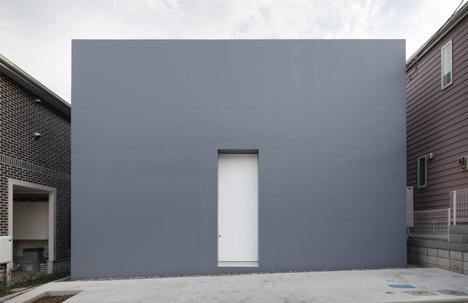 Cube House by Shinichi Ogawa & Associates