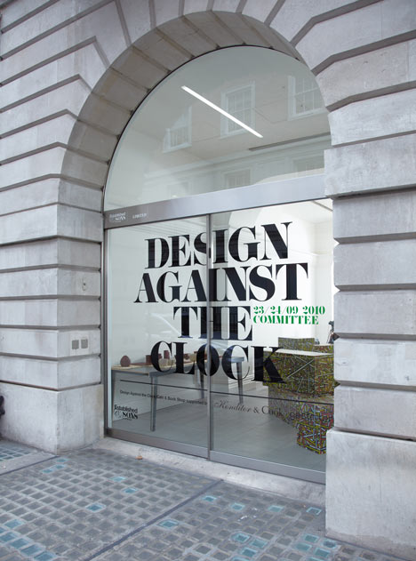 Design against the clock at Established & Sons