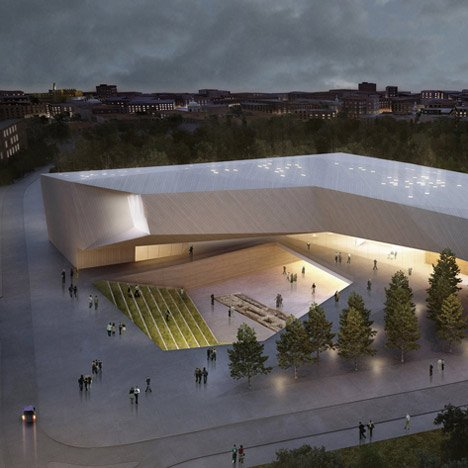 Museum of Tolerance Jerusalem by Chyutin Architects