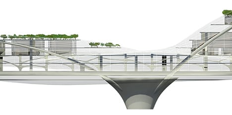 Paik Nam June Media Bridge by Planning Korea