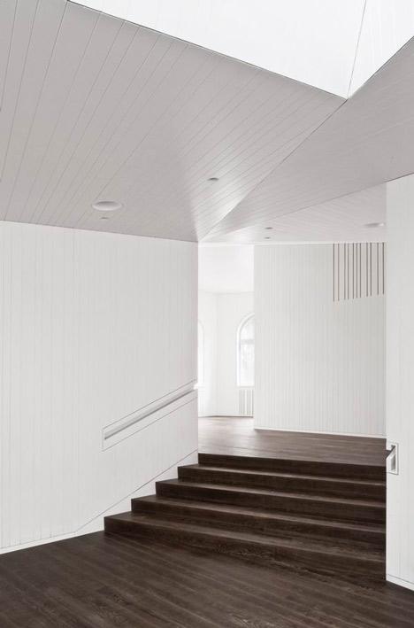 Parish House St Josef by Frei and Saarinen Architects