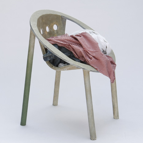 Ring Fibre Chair by Julien Renault