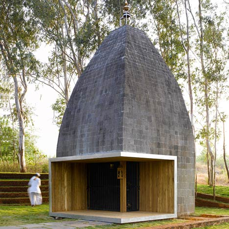 Shiv Temple by Sameep Padora & Associates