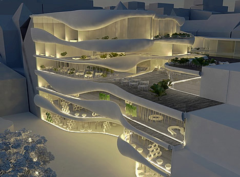 Shopping Pillow Terraces by OFIS 5
