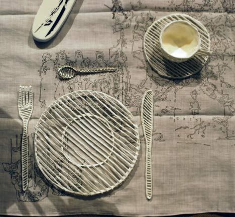 Silver Sugar Spoon by Studio Makkink & Bey