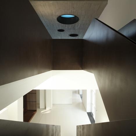 Teka Studio corten stairs