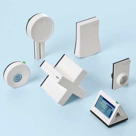 Efficient Home by Mathieu Lehanneur for Schneider Electric
