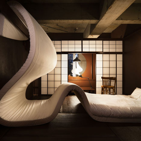 Llove exhibition dezeen for Design hotel tokyo