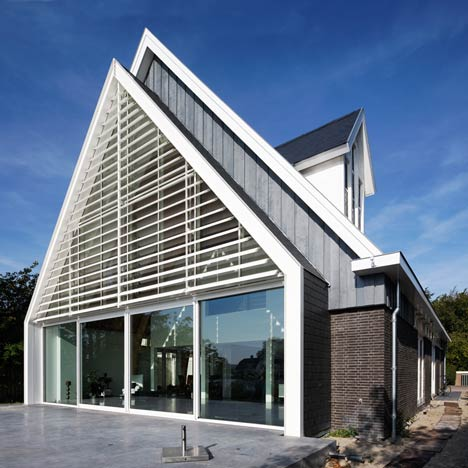 A House in a Church by Ruud Visser Architects