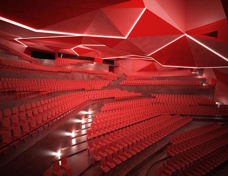 Auditorium by Gonzalo Vaíllo Martínez