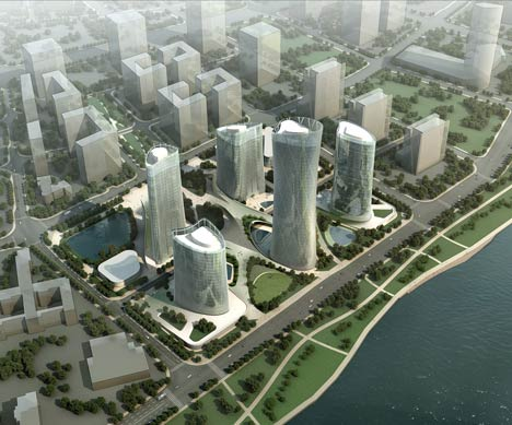 Central Business District Wenzhou by Henn Architekten
