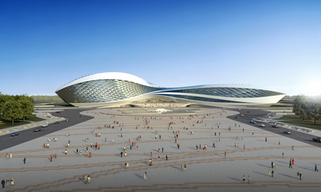 Chengdu Contemporary Art Centre by Zaha Hadid Architects