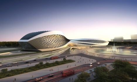 Chengdu Contemporary Art Centre by Zaha Hadid Architects