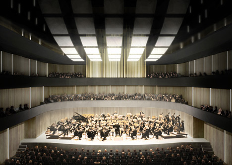 Dance and Music Centre in The Hague by RAU Architects & Powerhouse Company