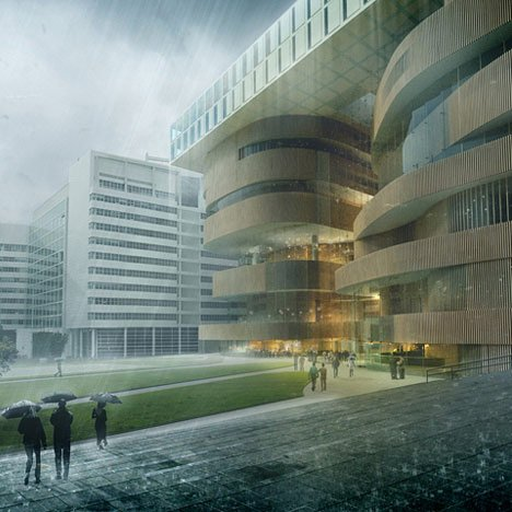 The New Dance and Music Centre in The Hague by RAU Architects & Powerhouse Company