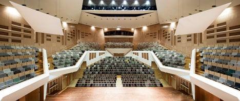 Frits Philips Concert Hall by Van Eijk & Van der Lubbe