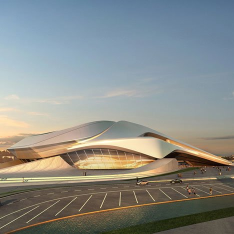 Rabat Grand Theatre by Zaha Hadid Architects