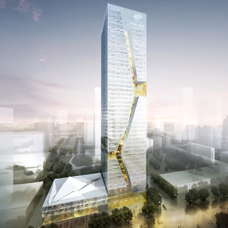 Guosen Securities Tower in Shenzhen by Studio Fuksas