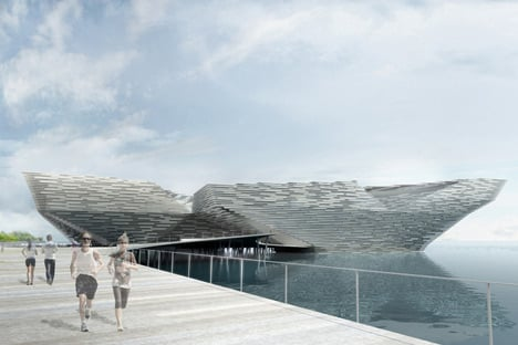 Kengo Kuma wins competition to design V&A at Dundee