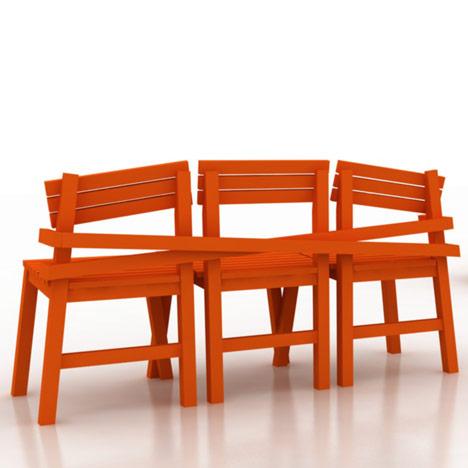 LAT Chair by Jeroen van Laarhoven