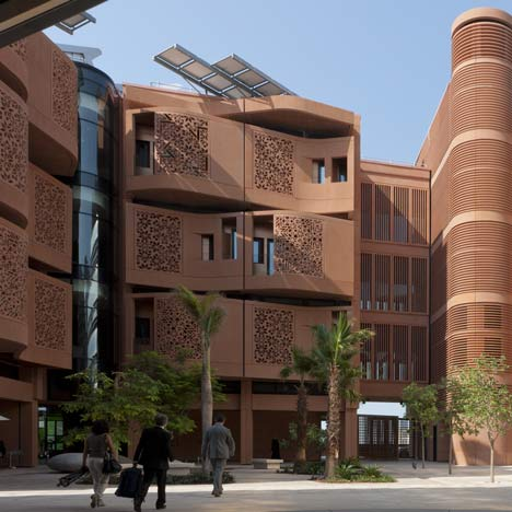 Masdar Institute campus by Foster + Partners