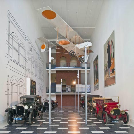 National Automobile Museum by Michael Graves & Associates