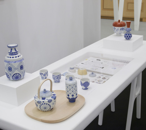 Porcelain by Jaime Hayón for Kutani Choemon