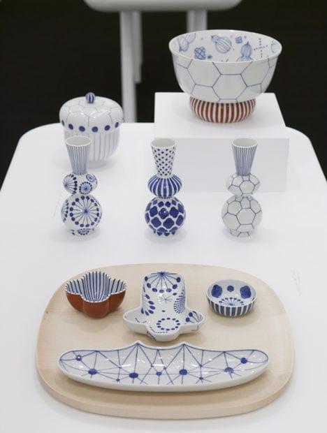 Porcelain by Jaime Hayón for Kutani Choemon