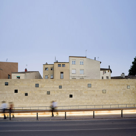 Rehabilitation of the City Walls of Logroño by Pesquera Ulargui Arquitectos