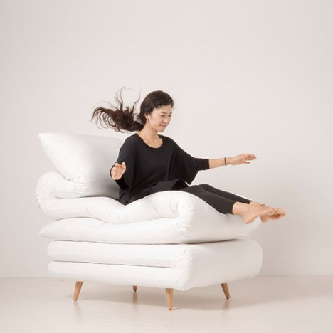 Sleepy Chair by Daisuke Motogi Architecture