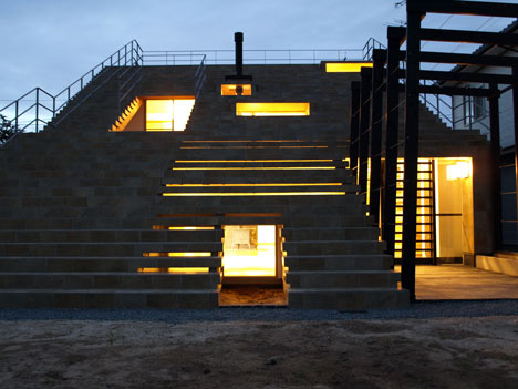 Stairs-House by y+M Design Office