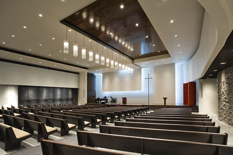 Tampa Covenant Church by Alfonso Architects