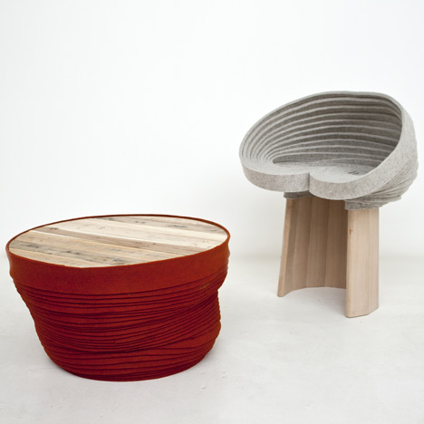 The Coiling Collection by Raw Edges