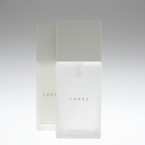 THREE packaging by Nendo