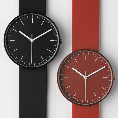 Uniform Wares new colours at Dezeen Watch Store