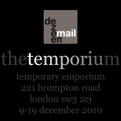 Dezeenmail The Temporium