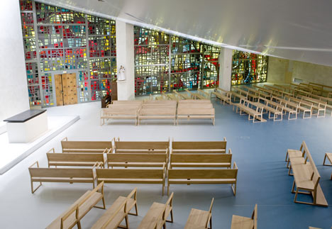 Chapel of the Assumption Interior by John Doe