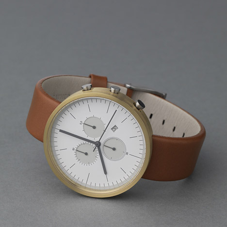 300 Series Chronograph Calendar Wristwatch by Uniform Wares