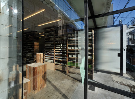 Aesop Aoyama designed by Jo Nagasaka and Schemata Architecture Office