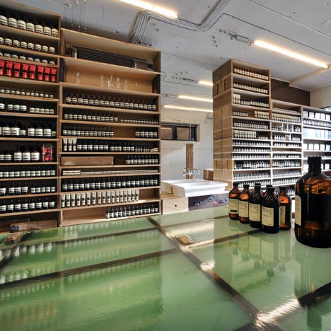 Aesop Aoyama by Jo Nagasaka and Schemata Architecture Office
