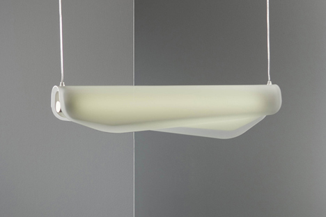 Algae lamp by Christian Vivanco