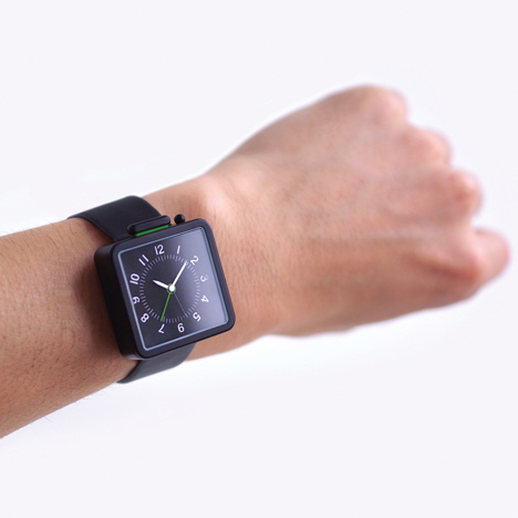 Analarm by Industrial Facility at Dezeen Watch Store