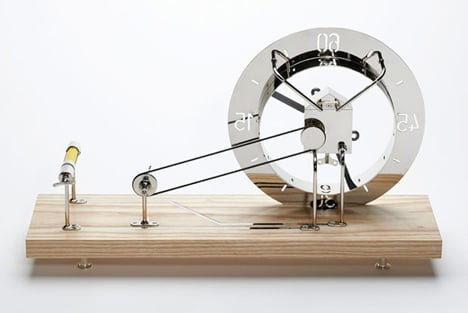 Clock for an Architect by Daniel Weil