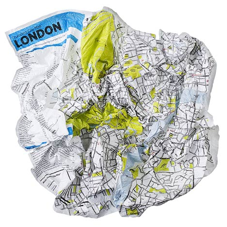 Crumpled City by Emanuele Pizzolorusso for Palomar