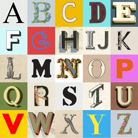 Sir Peter Blake: Alphabets