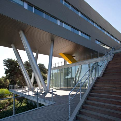 Haifa University Student Centre by Chyutin Architects