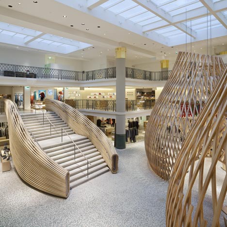 Herm s rive gauche by rdai dezeen for Belle piscine paris
