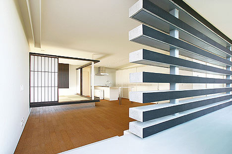 House with a Concrete Louver by StudioGreenBlue