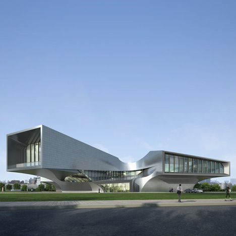 HuaiNan Animation Technology Industrial Park by Sunlay Design