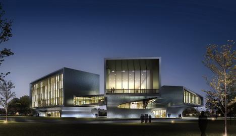 HuaiNan Animation Technology Industrial Park by Sunlay Design